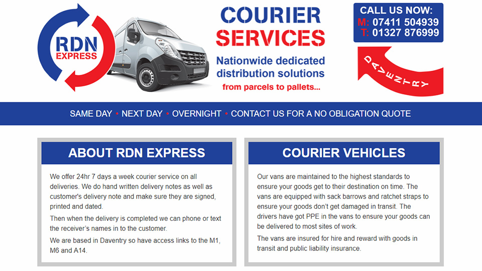 RDN Express Courier Services